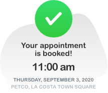 Step 1: Appointment Booked